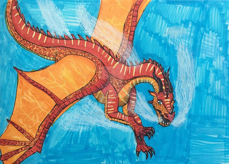 Wings Of Fire Peril By Potatogurl12 On Deviantart