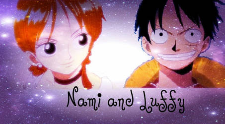 Nami and Luffy wallpaper by tish246