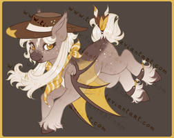 [CLOSED] Adopt- Sunny Bat Cowboy by Tinuleaf-Adopts