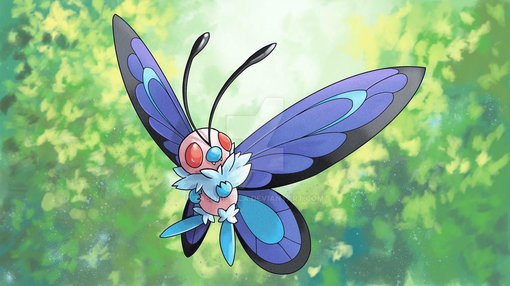 Mega Butterfree by zacharybla