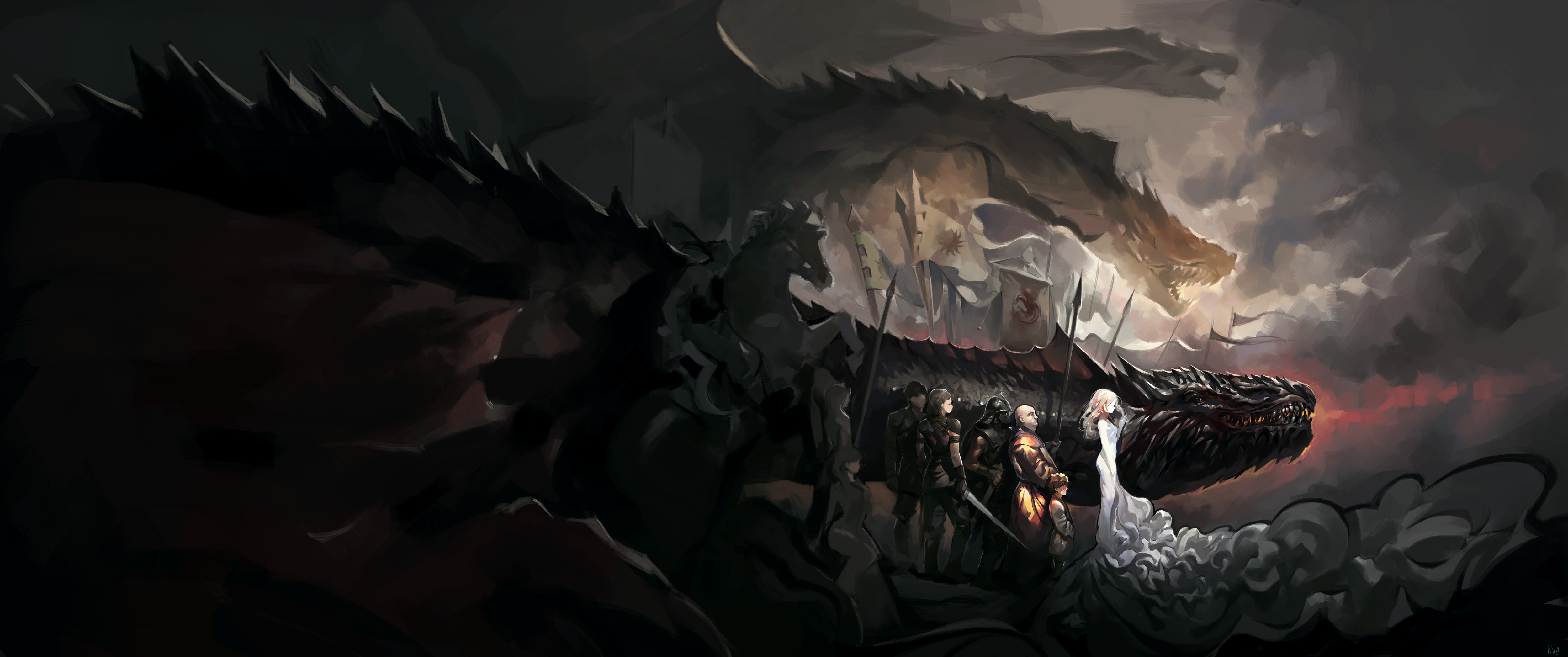 Mother Of Dragons by fkcogus333