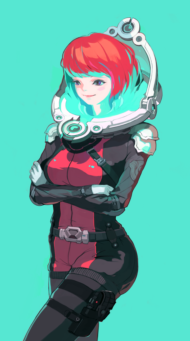Space Suit by fkcogus333