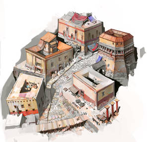 Ancient Roman Shantytown