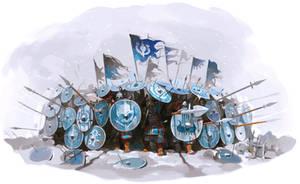 Sturgian Shield Wall, Bannerlord