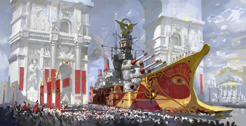 20th Century Roman Navy