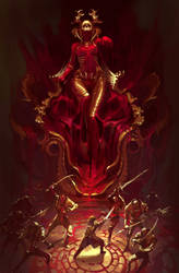 Queen of Great red slime