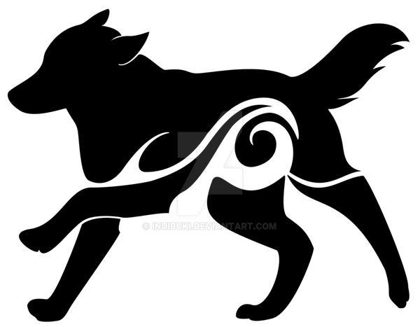 logo design water wolf by inuibuki on deviantart