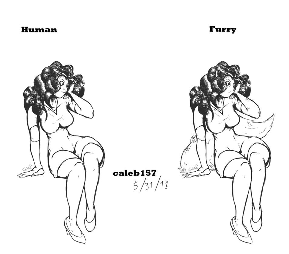 Human Furry by caleb157