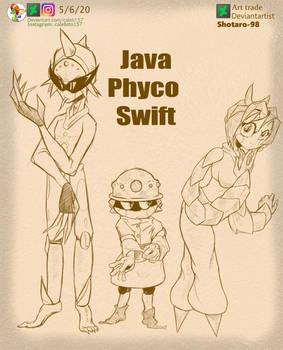 Java Phyco Swift