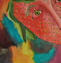 Strawberry Face by Jarzee
