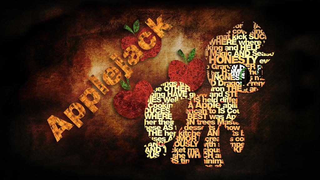 Applejack Type Wallpaper by EpicSpace
