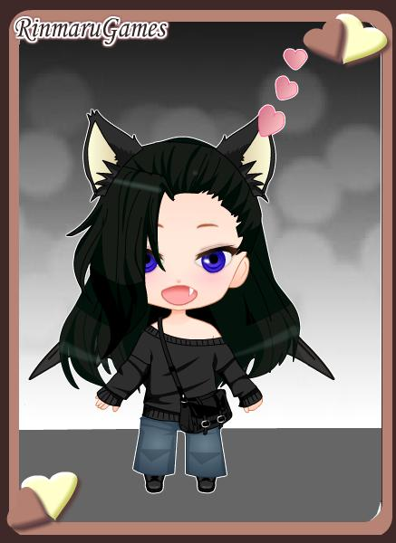 Me as a Chibi! by dogs297