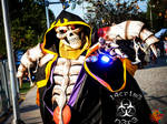 ainz ooal gown cosplay 1.0 led 30w