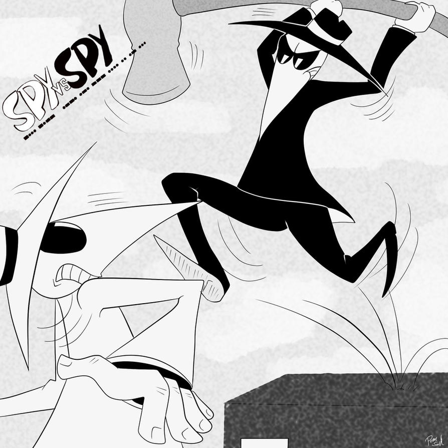 Spy Vs Spy by Poka-SorM