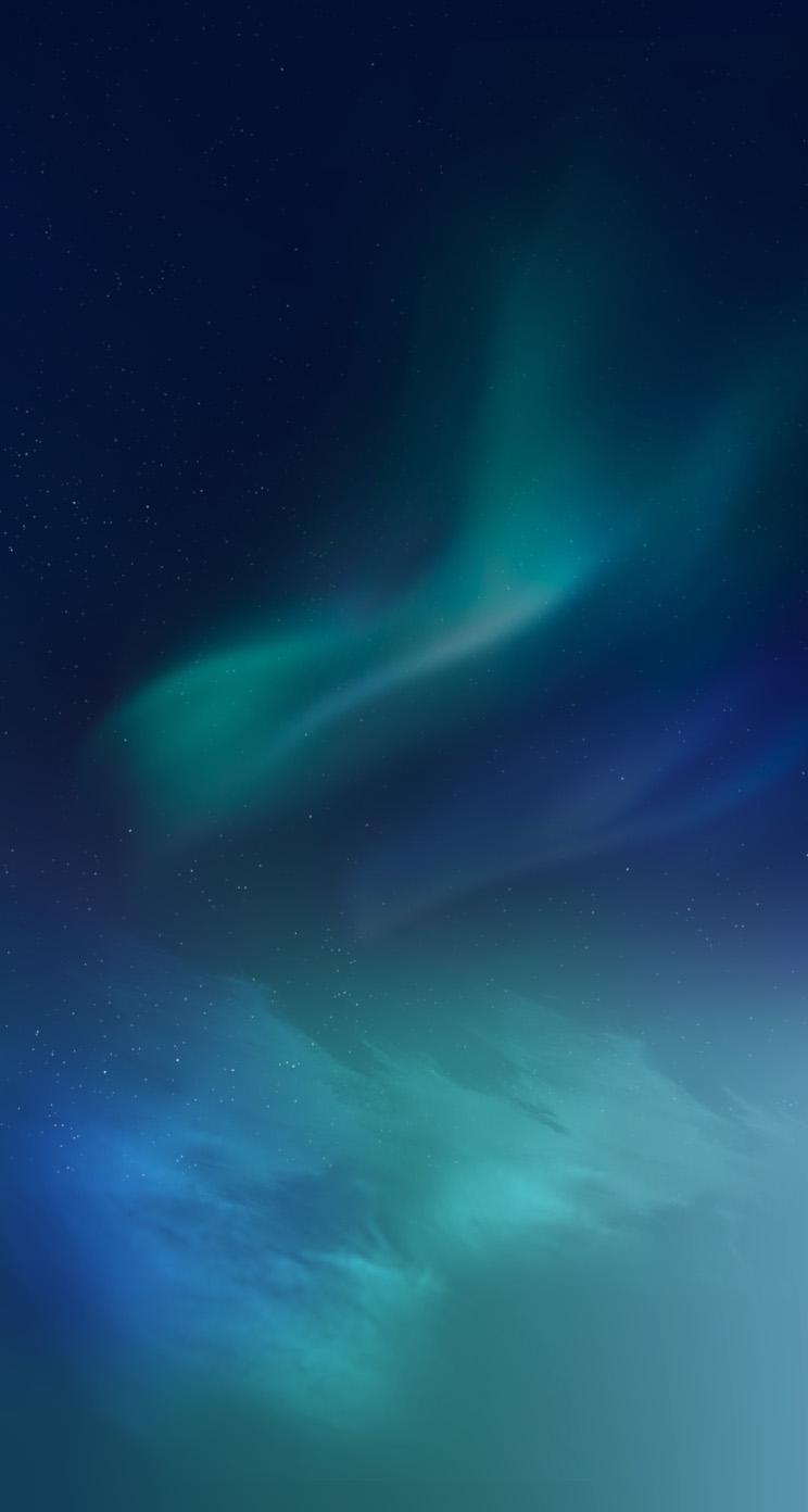 Blue Northern Lights Iphone 5 Wallpaper By Anxanx On Deviantart