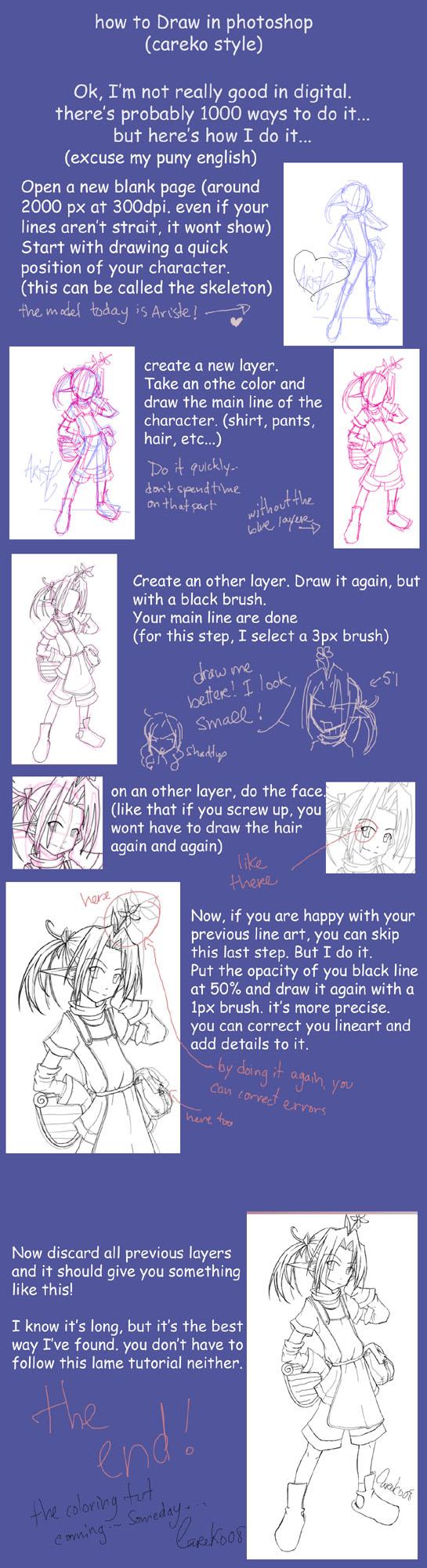 Easy digital line art tutorial by careko on deviantart easy digital line art tutorial by careko baditri Gallery