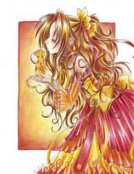 Fire Queen by careko