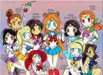 Sailor Disney cast