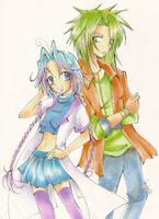 VG: Kanon and Chiharu by careko