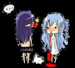 Sio's nosebleed promblem by careko
