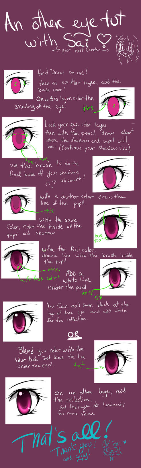 Another eye tutorial in SAI by careko