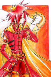 Fire King by careko