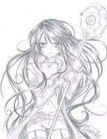 Sketch Sio 3 by careko