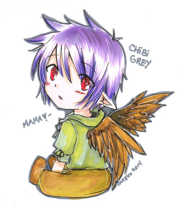 Chibi Grey by careko