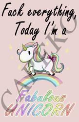Fabulous unicorn by careko