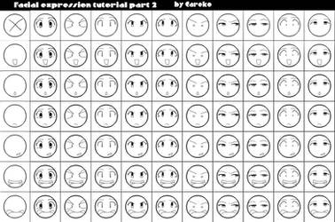Facial expression tut2 by careko