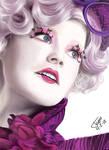 Effie Trinket by Fischmeister4