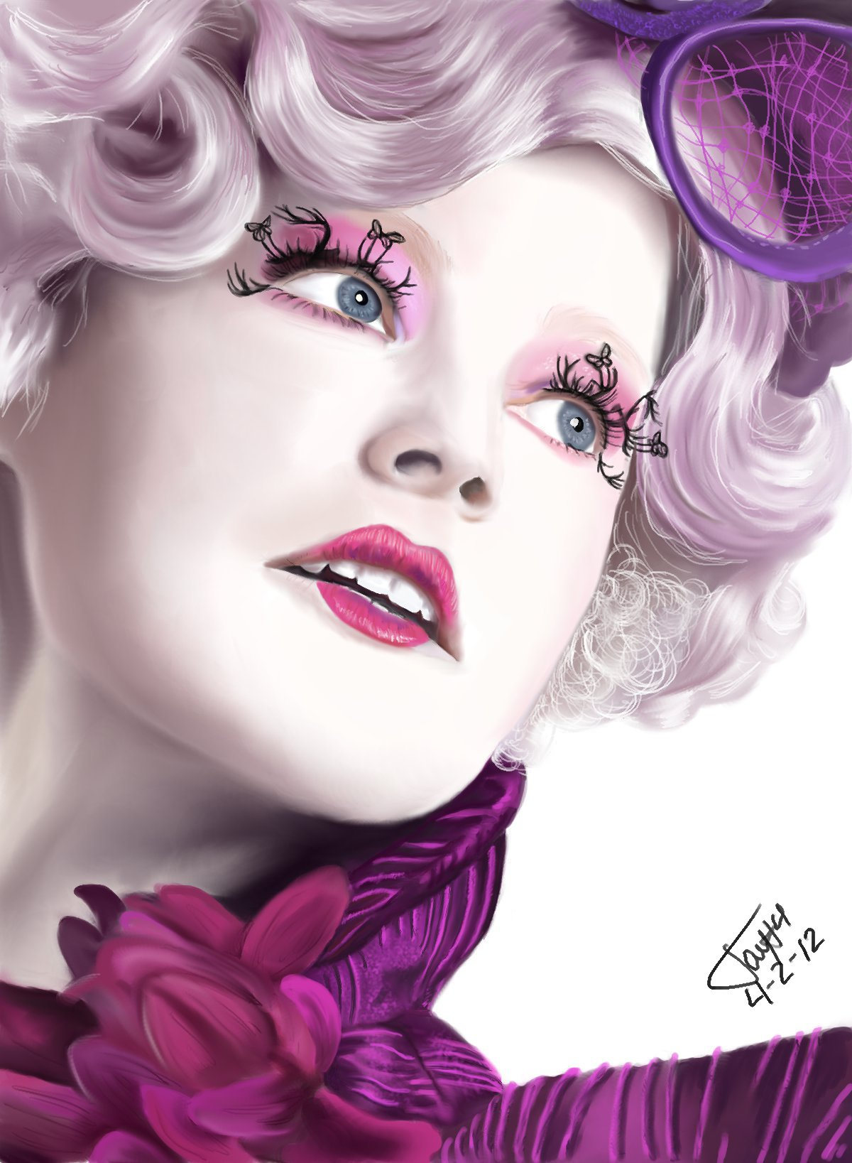 Effie Trinket by theant4