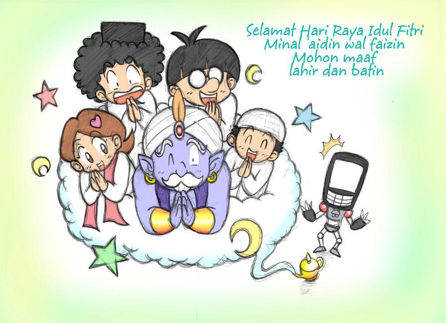 Selamat Hari Raya Idul Fitri by SandikaRakhim