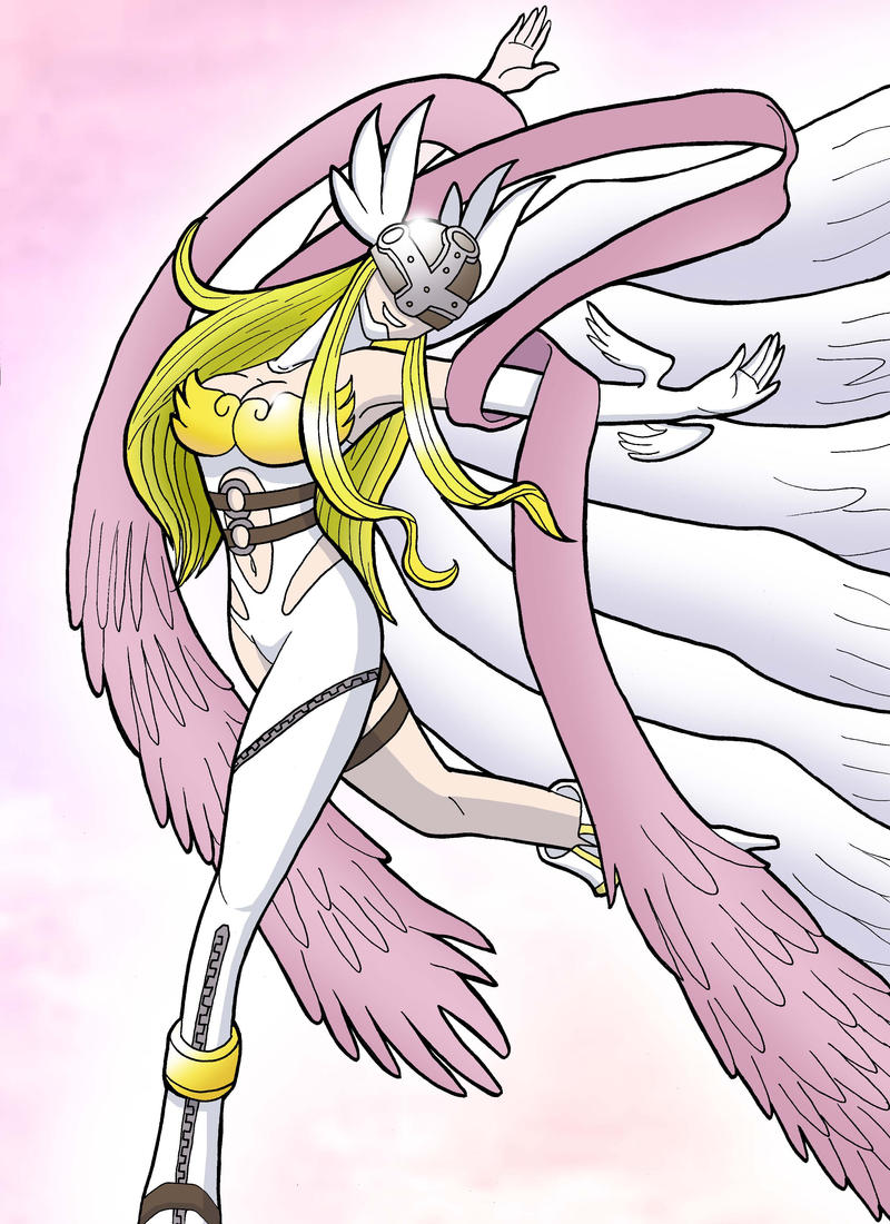 Angewomon by SandikaRakhim