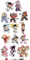 SF Characters by SandikaRakhim