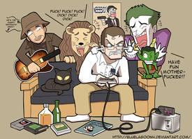 The Angry Video Game Nerd by SandikaRakhim