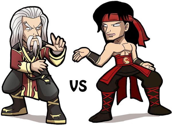 Mortal kombat shang tsung vs liu kang - photo#3