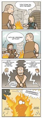 THS V SKYRIM Which Way to Go?