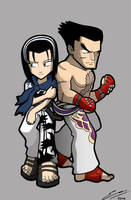 TTT2 Jun and Kazuya by SandikaRakhim