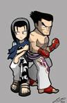 TTT2 Jun and Kazuya