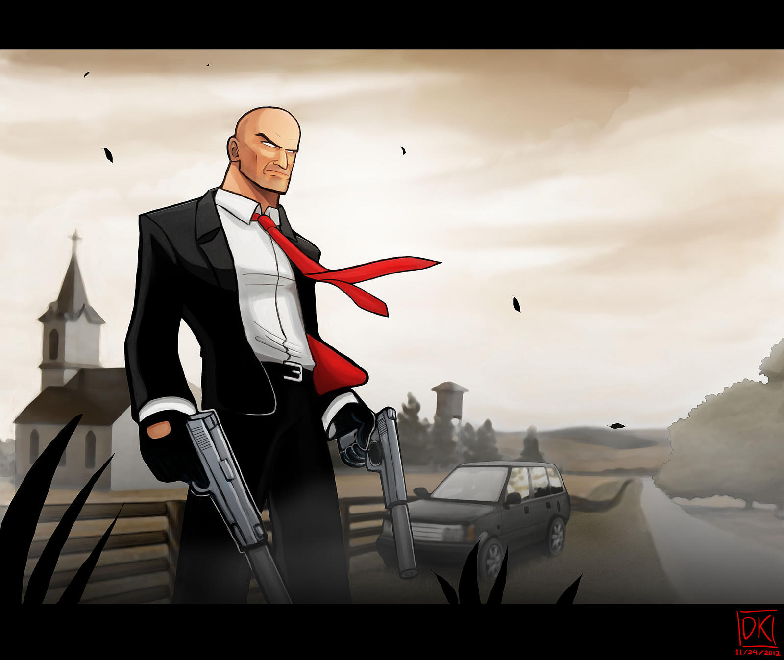 HITMAN On a Mission by SandikaRakhim