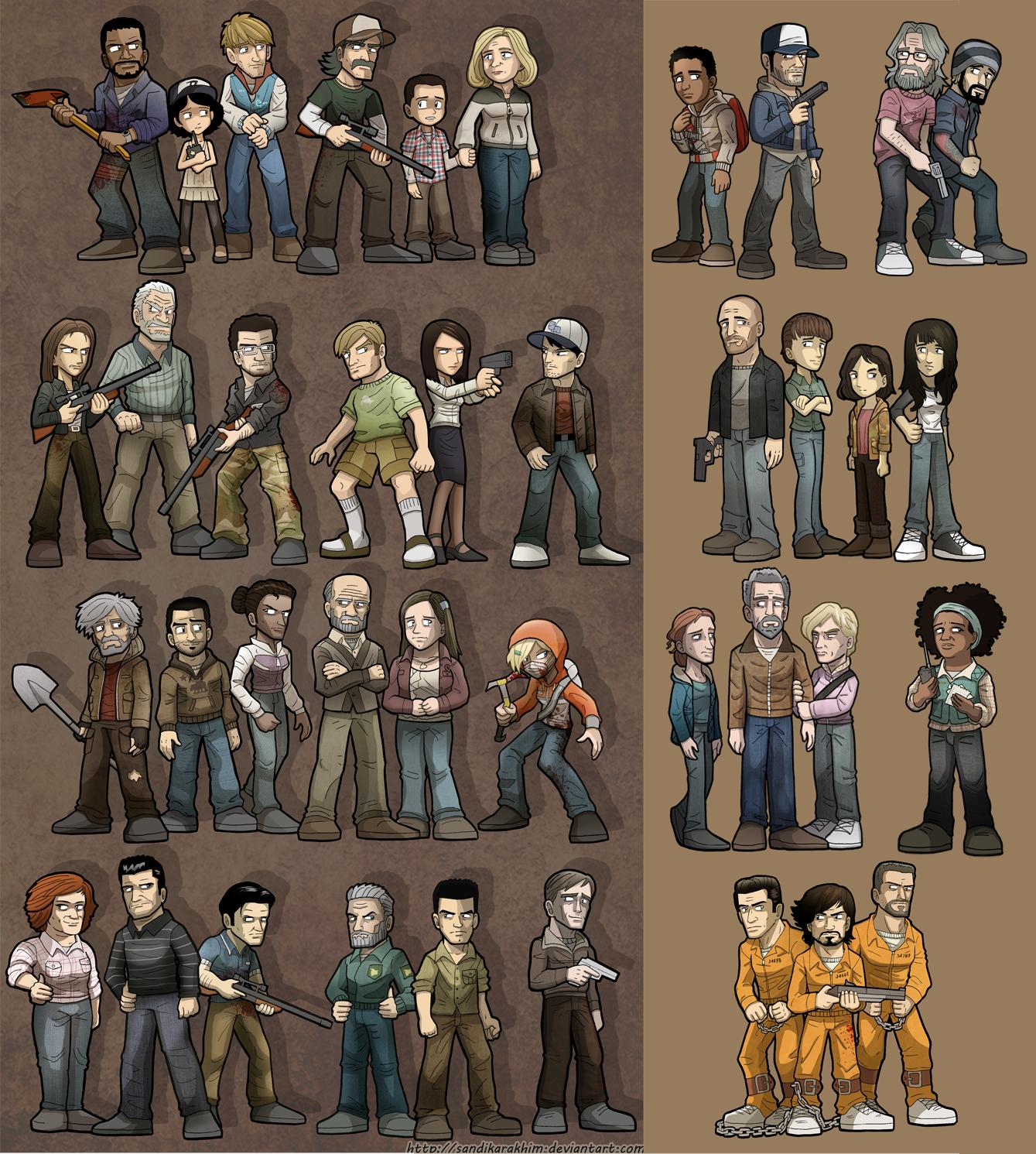 The Walking Dead: The Game + 400 Days by SandikaRakhim
