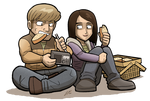 TWD: THE GAME Doug and Carley