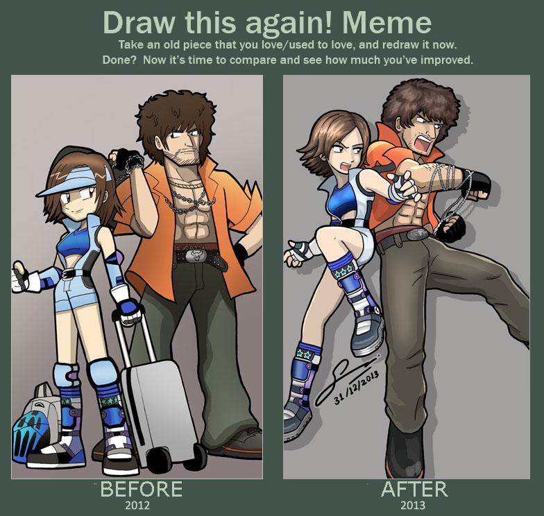 lili and asuka relationship memes