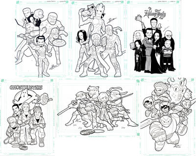Group Manual Drawings by SandikaRakhim