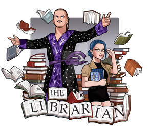 AEW The Librarian