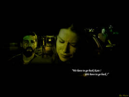 Lost : 'We have to go back'