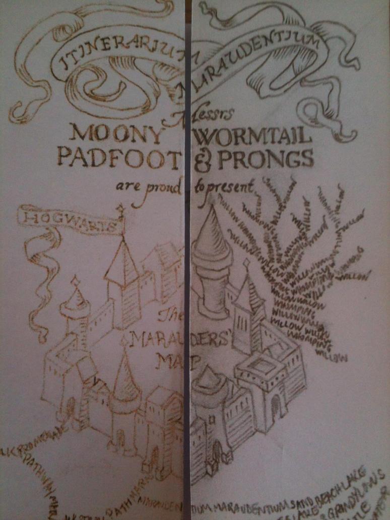 Great Wallpaper Harry Potter Map - diy_mini_harry_potter_marauder_s_map_by_yumjum-d60erjn  Graphic_485685.jpg