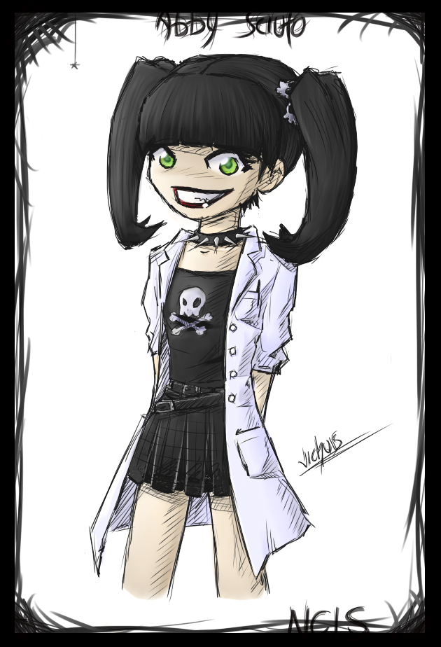 NCIS - Abby Sciuto by Vichuis