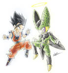 Gohan and Cell